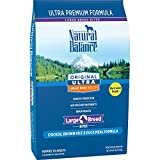 Natural Balance Large Breed Bites Dry Dog Food, Or...