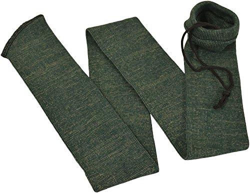 Silicone Oil Treated Gun Sock 52' Rifle Shotgun Storage Bag (Green)