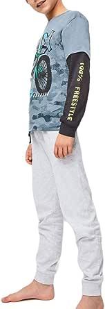 YATSI - Pijama niño Bicicleta Tobogán. niños