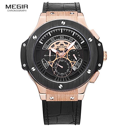 2018 Men's Luxury Watch, Chronograph Style Analog Unique Design Watch