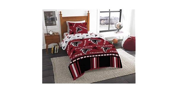 brand new df26f 04f0a Amazon.com: Atlanta Falcons Twin Bed in Bag Set: Home & Kitchen