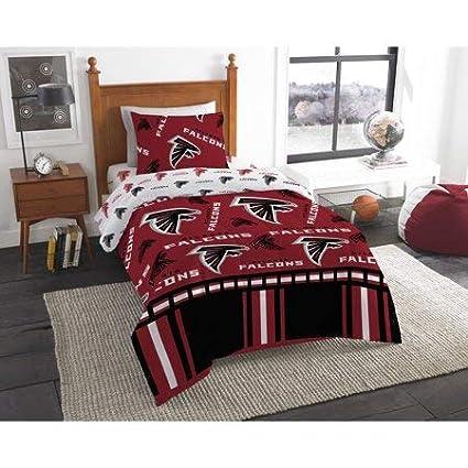 4793dc03 Amazon.com: Atlanta Falcons Twin Bed in Bag Set: Home & Kitchen