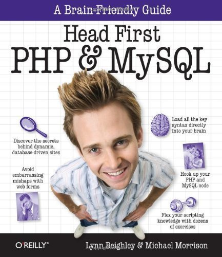 Head First PHP & MySQL 1st edition by Beighley, Lynn, Morrison, Michael (2009) Taschenbuch Gebundenes Buch – 1709 Michael Beighley O'Reilly Media B011DAL93M