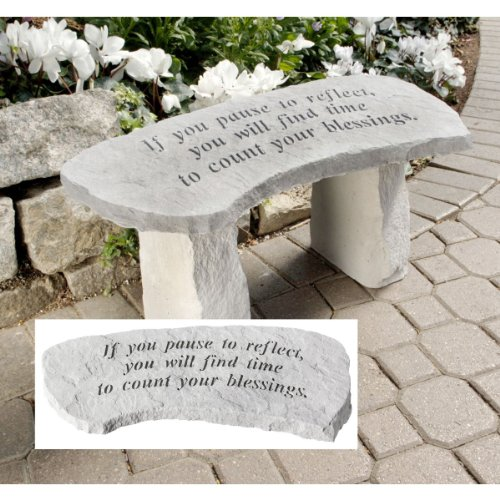 Design Toscano Count Your Blessings Cast Stone Memorial G...