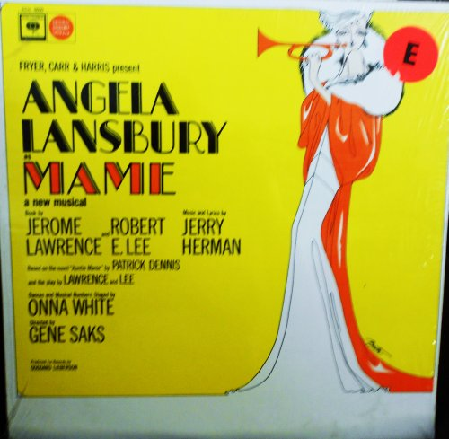 Price comparison product image Mame Angela Lansbury Original Broadway Musical Cast Columbia Records Mono release KOL 6600 1960's Broadway Musical Vinyl (1966)