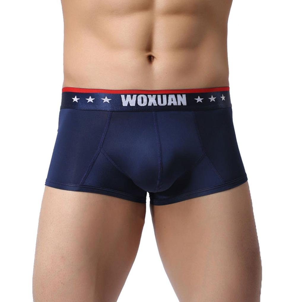 Mä nner Unterhosen Boxershorts, Hunpta Mode Mä nner Thongs Shorts Weiche Unterwä sche Ausbuchtung Pouch Unterhose