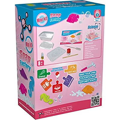Science4you Soap Factory Mini Kit Science Experiment Kit: Toys & Games