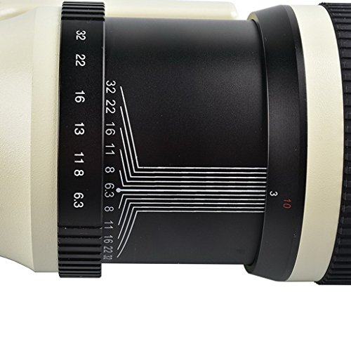 Jili Online 500mm f/6.3 Telephoto Mirror Fixed Lens for Canon 450D 550D 650D 750D 760D by Jili Online (Image #8)