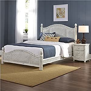 Marco Island Bed and Night Stand (King)