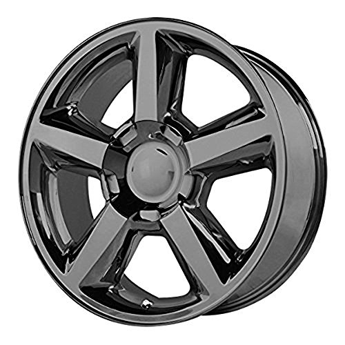 OE Creations | 131GB-2215831 | 22 Inch | Chevy Silverado 1500LTZ | PR131 Wheel/Rim | Black | 22x10 Inch | 6x5.5/6x139.70 | 31mm (Chevy Silverado Rims And Tires)