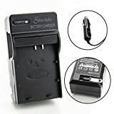 Silverlake Portable Wall & Car Rapid Charger for Canon LP-E10 Camera Battery - Fits Canon EOS Rebel T3, T5, T6, Kiss X50, Kiss X70, EOS 1100D, EOS 1200D, EOS 1300D