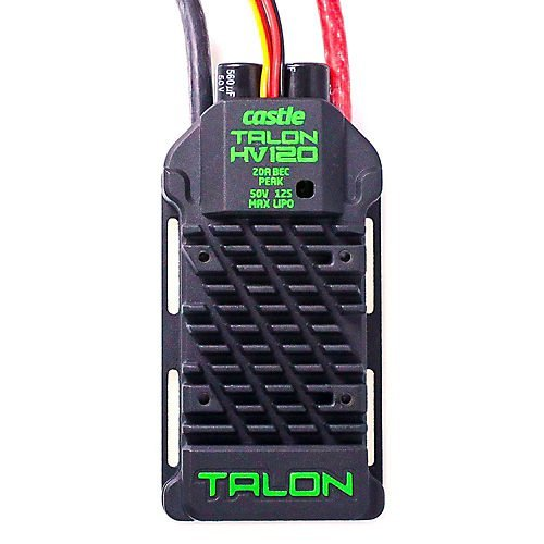 - Castle Creations Talon 120 High Voltage, 120 Amp & 12 S-Max Heavy Duty Battery Eliminator Circuit Kit