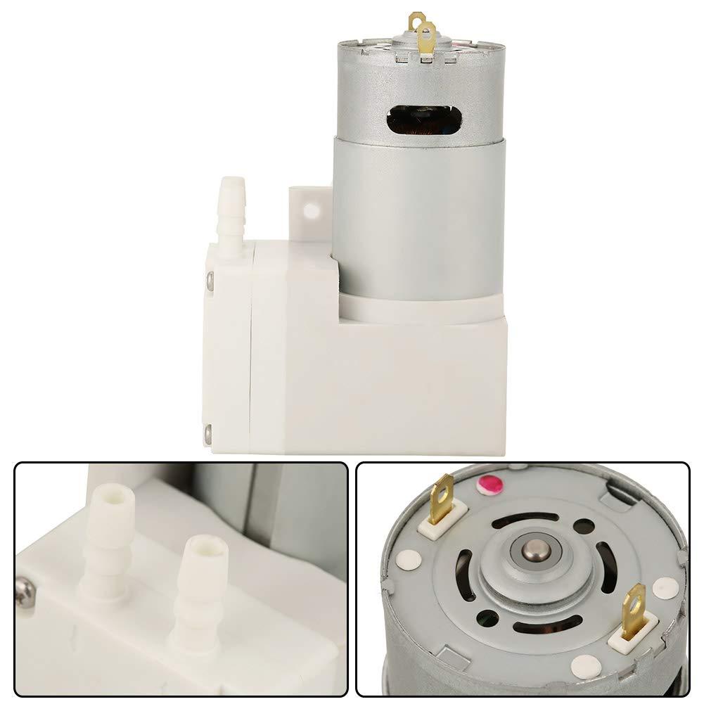 Bomba de vac/ío DC12V Mini Bomba de vac/ío Bomba de succi/ón de presi/ón negativa para m/áquinas de envasado de alimentos,alta eficiencia et estable y confiable para laboratorio f/ábrica