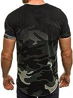 Camiseta de Camuflaje Hombre Militares Camisetas Deporte Ropa Deportiva Camisa de Manga Corta de Camuflaje Slim fit Casual para Hombres Tops Blusa (Verde, M): Amazon.es: Deportes y aire libre