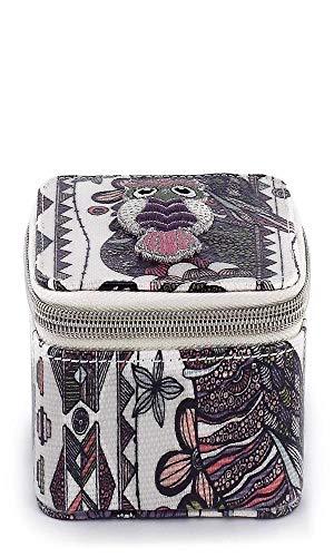 Artist Jewelry Box - Sakroots Artist Circle Jewelry Box (Pastel Spirit Desert)