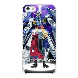 mobile suit gundam0 U4O8PX1U Caso funda iPhone 5 5s Caso funda del teléfono celular blanco