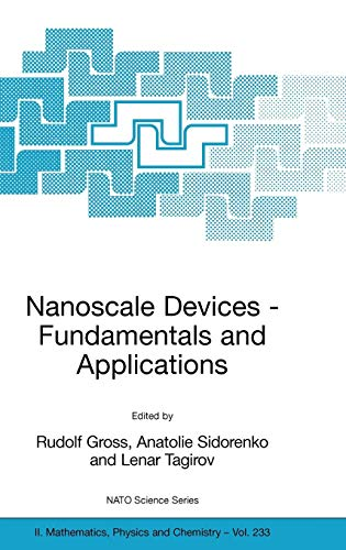 - Nanoscale Devices - Fundamentals and Applications (Nato Science Series II:)