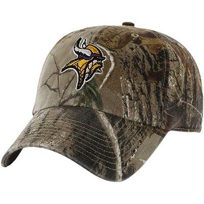 NFL '47 Brand Minnesota Vikings Clean Up Adjustable Hat - Realtree Camo