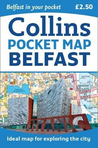 Collins Pocket Map Belfast|-|0008225095