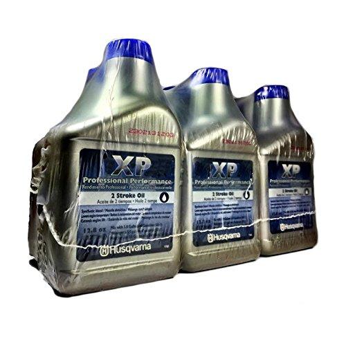 2 Husqvarna Cycle Oil (Husqvarna XP 2 Stroke Oil 12.8 oz. Bottle 6-Pack)