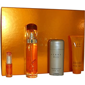 Amazon.com : Perry by Perry Ellis for Men Gift Set : Fragrance ...