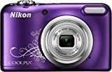 Nikon Coolpix A10 16MP Digital Camera (Decorative Purple) International Model