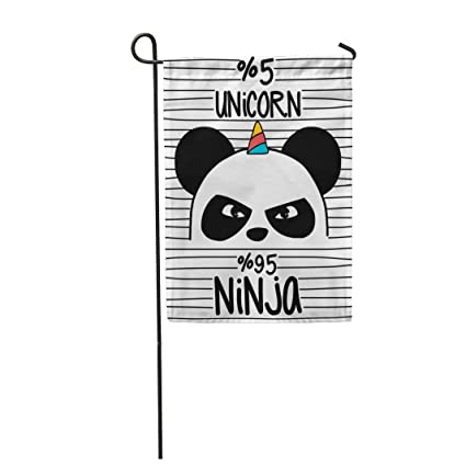 Amazon.com : Tarolo Decoration Flag Pink Animal Cute Panda ...
