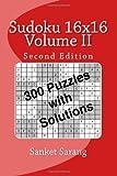 Sudoku 16x16 Vol II, Sanket Sarang, 1449536816