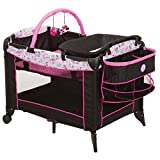 Disney Baby Minnie Mouse Sweet Wonder Play Yard with Carry Bag (Garden Delight)