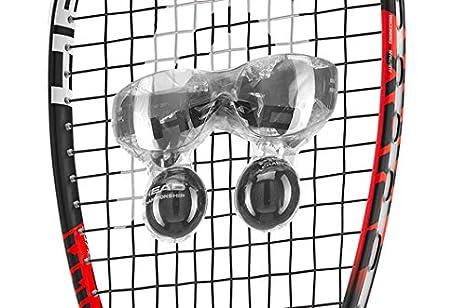 Amazon.com : HEAD Spark Elite Squash Racquet Eyewear Ball Pack : Sports & Outdoors