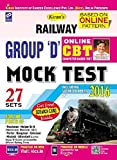 Kiran's Railway Group 'D' Online Cbt Mock Test Practice Work Book-English