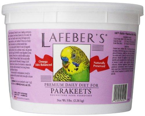 Lafeber Company Parakeet Pellets Premium Daily Diet Pet Food, 5-Pound