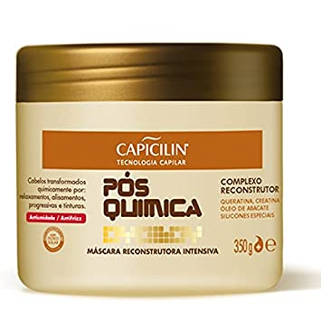Linha Pos Quimica Capicilin - Mascara Reconstrutora Intensiva 350 Gr - (Capicilin After Processing Collection