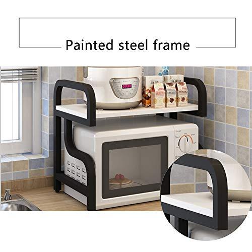 MSASHDN Cocina Industrial Marco Soporte de Metal Home Styles ...