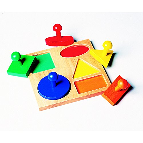 GUIDECRAFT USA GEO PUZZLE BOARD AGE 1 & UP (Set of 3)