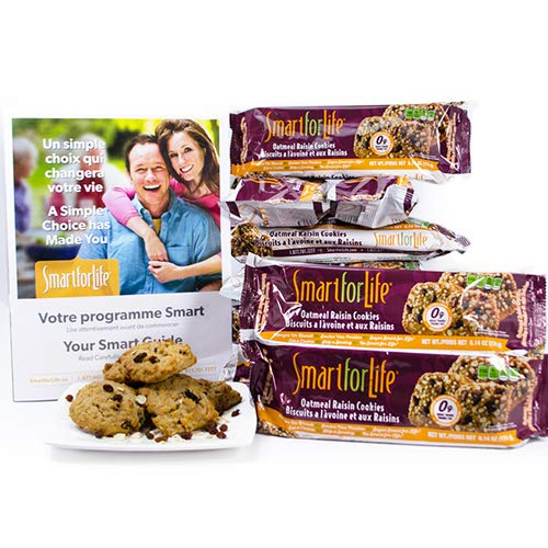 Lavi Enterprises Cookie Diet, Oatmeal Raisin, 198 Grams,  (Pack of 14) by Smart for Life (Image #8)
