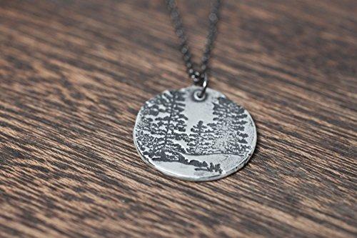 Winter Pine Pendant - 9