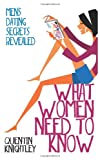 What Women Need to Know, Quentin Knightley, 1495940853