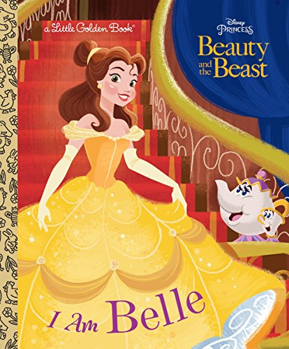 I Am Belle (Disney Beauty and the Beast) (Little Golden Book)