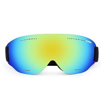 CHEYAL Gafas De Esquí Frameless Anti-Niebla Polarizado UV400 Protección Gafas De Nieve Casco Compatible
