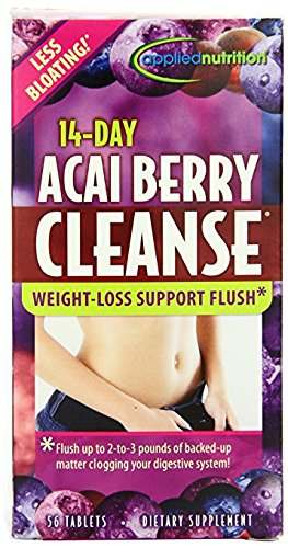 Applied Nutrition 14-day Acai Berry Cleanse 56-Count Bottle 51kR 2BC5GTsL