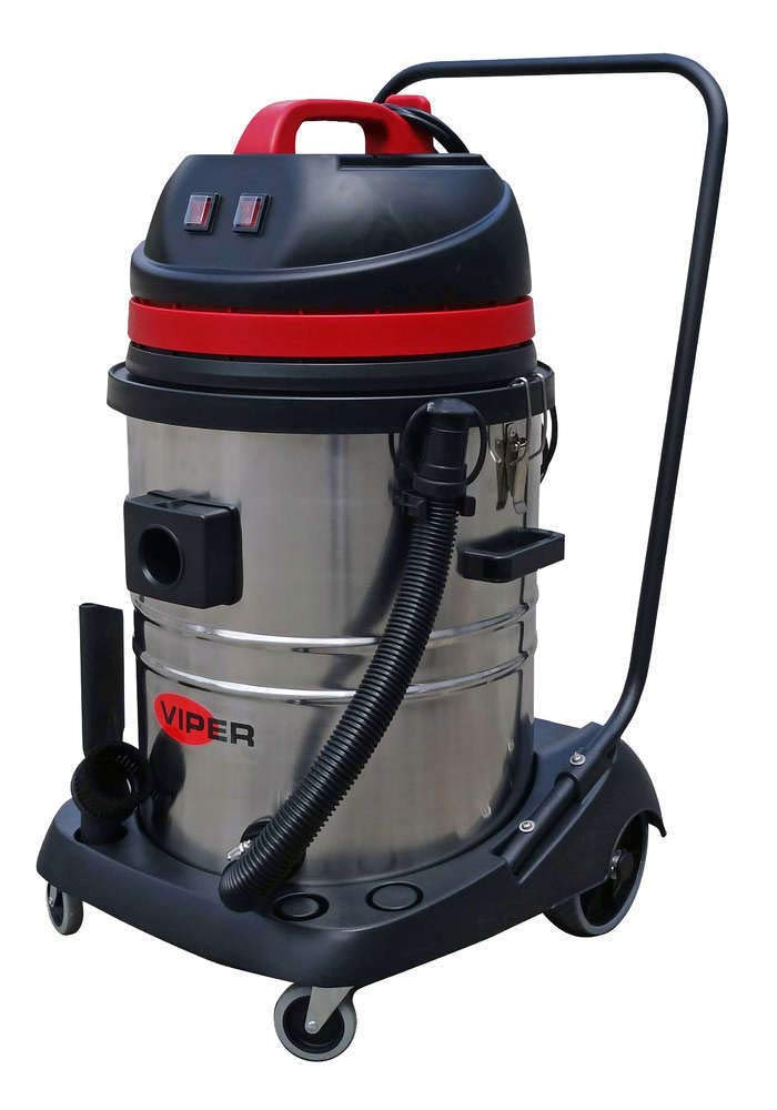 Aspirador de agua y polvo 55 litros 2 motores: Amazon.es: Industria, empresas y ciencia