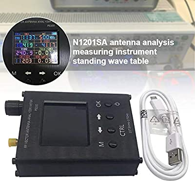 UKSAT Vector Network Analyzer,N1201Sa Tester,Uv Rf Antenna Analyzer Vector Impedance Enhanced Version of Antenna Analysis and Measurement Instrument,Standing Wave Table