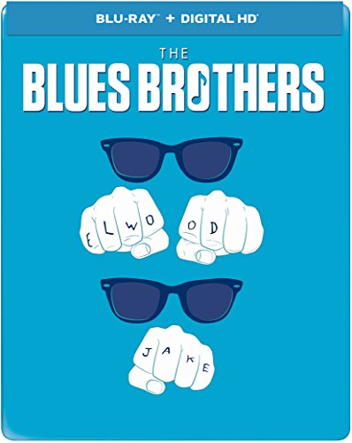 Blu-ray : Blues Brothers (Limited Edition, Steelbook, Ultraviolet Digital Copy, Digital Copy)