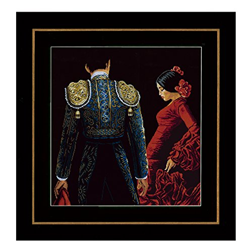 Traditional Flamenco Dance Costumes (Lanarte Dancing in Passion Counted Cross-Stitch)