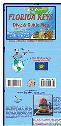 Map Florida Keys.Franko Map Florida Keys Guide Map 9783943119114 Amazon Com Books