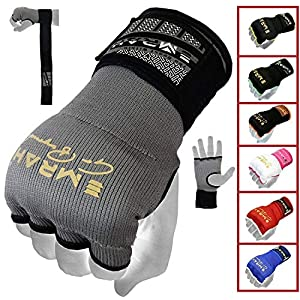 EMRAH PRO Training Boxing Inner Gloves Hand Wraps MMA Wraps Mitts – X