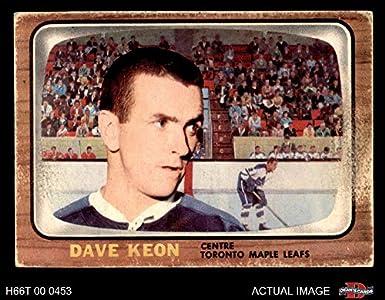b04a7b20d 1966 Topps   78 Dave Keon Toronto Maple Leafs (Hockey Card) Dean s Cards 1.5