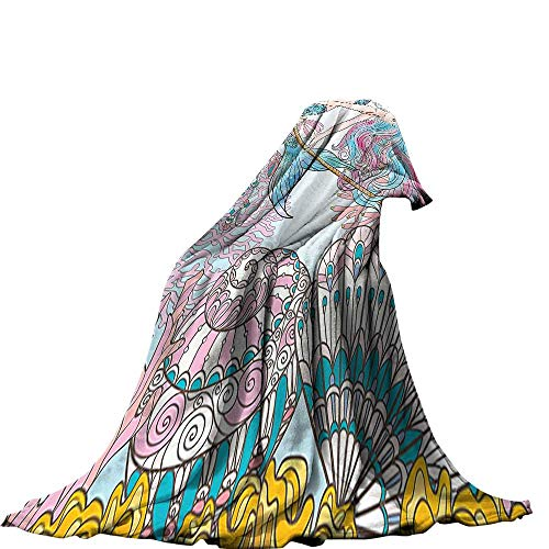 QINYAN-Home Throw Blanket (80