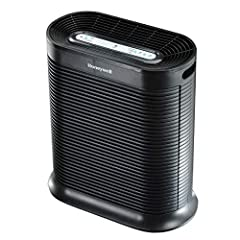 Honeywell True HEPA Allergen Remover captures up to 99.97 percent of microscopic allergens, .3 microns or larger. Note air purifier is starting to make noise and the air output is less then the filters may be dirty. High amounts of contaminat...